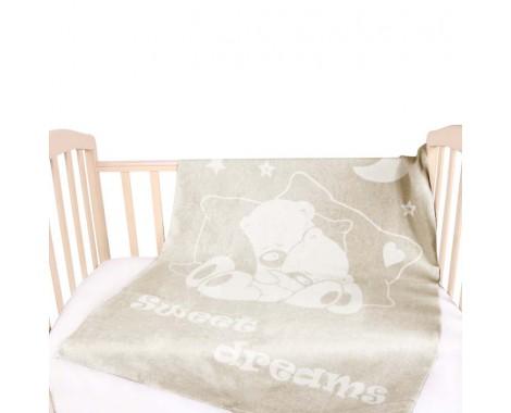 Байковое одеяло Vladi home Сони 100 х 140 см.