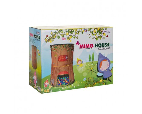 Игровой домик Sevillababy Лесной домик Мимо + 100 шариков