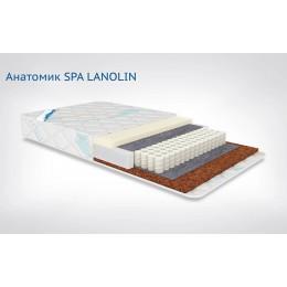 Матрас Афалина Анатомик Spa Lanolin 60 х 120 см