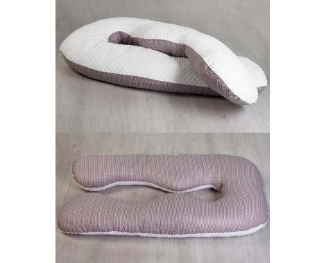Анатомическая подушка для беременных AmaroBaby Excluzive Original Collection 340 х 72 см.