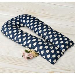 Подушка для беременных AmaroBaby U-образная 340 х 35 см.