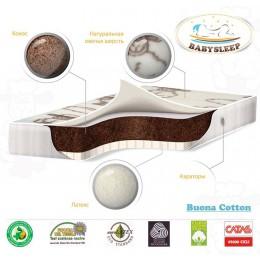 Матрас BabySleep Buona Cotton 120 х 60 см.