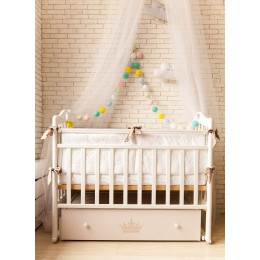 Кроватка By Twinz Версаль (поперечный маятник)