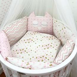 Комплект в кроватку Dreams Мечтатель в розовом 5 предметов