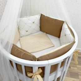 Комплект в кроватку Dreams Королевский 5 предметов
