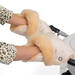 Муфта-рукавички для коляски Esspero Carina (100 % овечья шерсть)