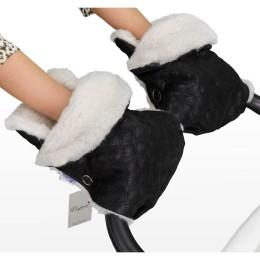 Муфта-рукавички для коляски Esspero Karolina (100 % овечья шерсть)