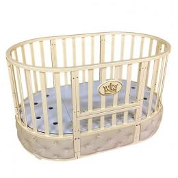 Овальная кроватка Кедр Sofia Elegance (универсальный маятник)