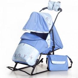 Санки-коляска Kristy Luxe Plus
