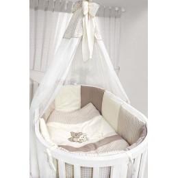 Комплект в кроватку Labeille Крем-брюле (овал) 8 предметов
