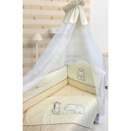 Комплект в кроватку Labeille Сафари 6 предметов