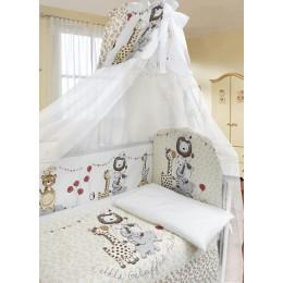 Комплект в кроватку Labeille Вечеринка маленького жирафа 7 предметов