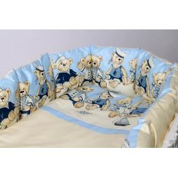 Универсальный комплект в кроватку Lappetti Морячки