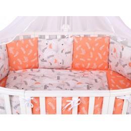 Комплект в кроватку AmaroBaby Лес 15 предметов