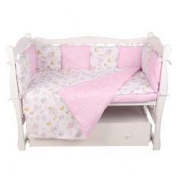 Комплект в кроватку AmaroBaby Мышата в облаках 15 предметов