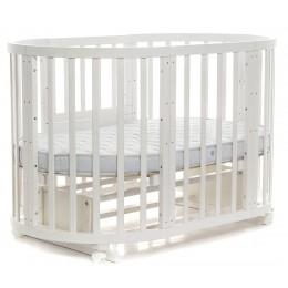 Овальная кроватка Noony Cozy (поперечный маятник)