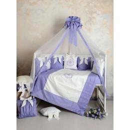 Универсальный комплект в кроватку Patrino Versento 8 предметов