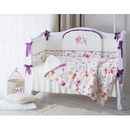 Комплект в кроватку Perina Акварель 6 предметов