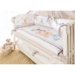 Комплект в кроватку Perina Венеция Три Друга 3 предмета