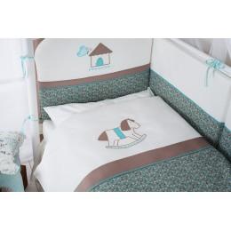 Комплект в кроватку Perina Жила-была лошадка 3 предмета