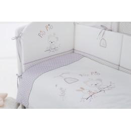 Комплект в кроватку Perina Pio Pio 4 предмета