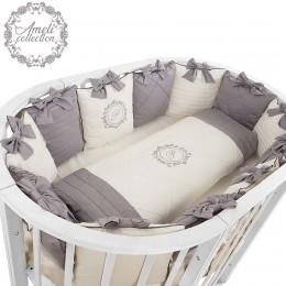 Комплект в кроватку Pituso Ameli 7 предметов