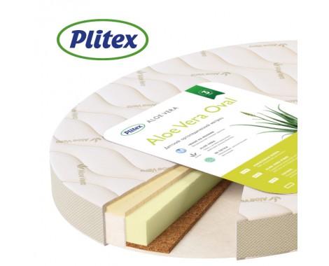 Матрас Plitex Aloe Vera Oval 65 х 90 см