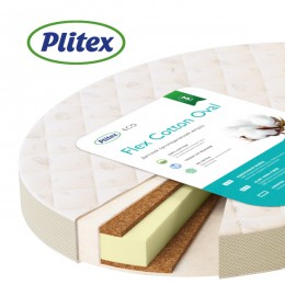 Матрас Plitex Flex Cotton Oval 75 х 125 см