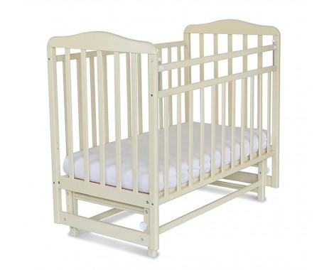 Кроватка СКВ Митенька (поперечный маятник без ящика)