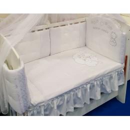 Бортики в кроватку Сдобина Мишки