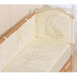 Бортики в кроватку Сдобина Облачка
