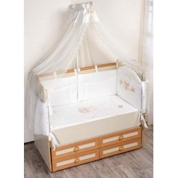 Комплект в кроватку Сдобина Романтик 7 предметов