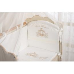 Бортики в кроватку Сдобина Маленькое высочество