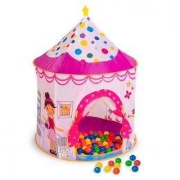 Игровой домик Sevillababy Принцессы + 100 шариков