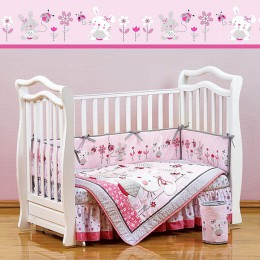 Комплект в кроватку Shapito Bonny Bunny 7 предметов