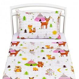 Комплект постельного белья Shapito Forest friends 2 предмета