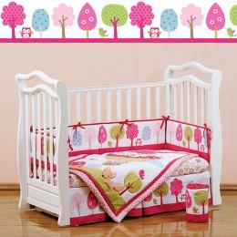Комплект в кроватку Shapito Jolly Baloon 7 предметов