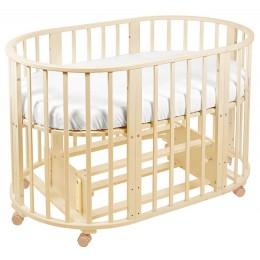 Кровать-трансформер Sweet Baby Delizia 10 в 1 с маятником