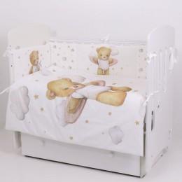 Универсальный комплект в кроватку Топотушки Лучик 6 предметов