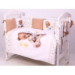 Комплект в кроватку Топотушки Пижамная вечеринка 6 предметов