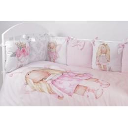 Комплект в кроватку Топотушки Принцесса фей 6 предметов