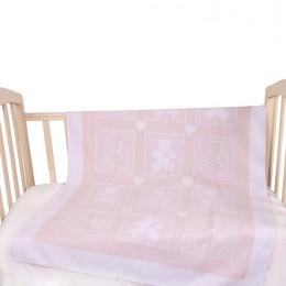 Байковое одеяло Vladi home Барни 100 х 140 см.
