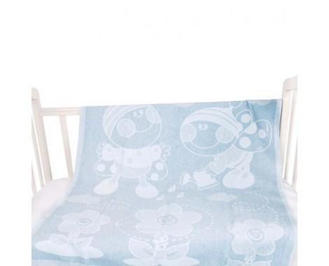 Байковое одеяло Vladi home Букашка 100 х 140 см.