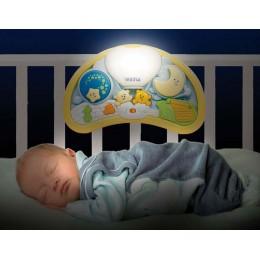 Музыкальный ночник Weina Мишки на воздушном шаре