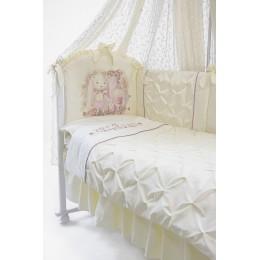 Комплект в кроватку Золотой Гусь Акварель 6 предметов