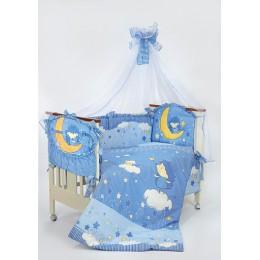 Комплект в кроватку Золотой Гусь Ежик Топа-Топ 8 предметов