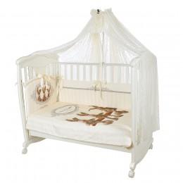 Комплект в кроватку Золотой Гусь Sweet Rabbit 7 предметов