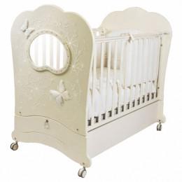 Кроватка Feretti FMS Oblo Charme brilliante (продольный маятник)